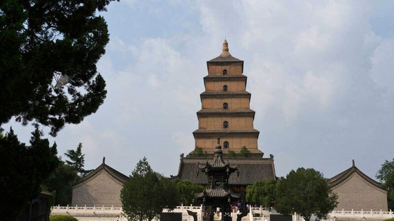 Pagodas del Ganso Salvaje en Xian