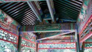 Pinturas del techo del Gran Corredor del Palacio de Verano de Pekín