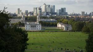 Museo Marítimo Nacional en Greenwich Park, el primer parque real de Londres