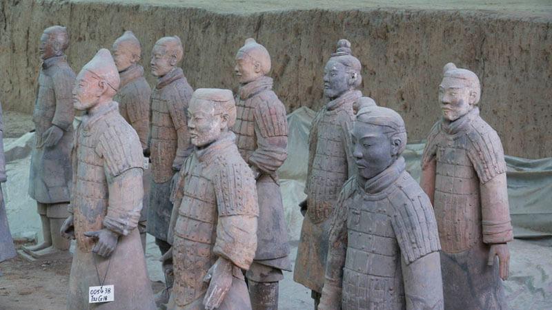 Guerreros de Terracota de Xian