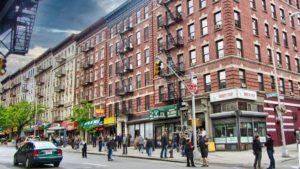 Calles de Harlem, uno de los barrios de Manhattan