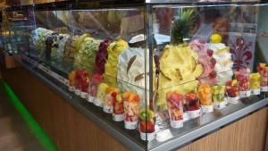 Helados italianos (gelato), uno de los postres más típicos de la gastronomía italiana, qué comer en Florencia