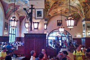Cervecería Hofbräuhaus, la más famosa y visitada de Múnich
