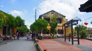 Calles de Hoi An, ciudad declarada Patrimonio de la Humanidad