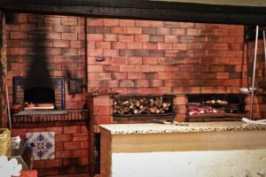 Horno tradicional castellano para asados y carnes a la brasa