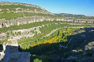 Vistas de la hoz del Júcar desde el Castillo de Cuenca