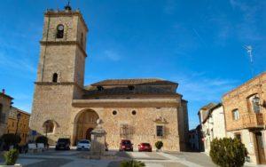 """Iglesia de San Antonio Abad , conocida como """"Catedral de La Mancha"""""""