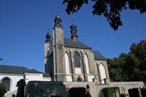 Iglesia del Cementerio de Todos los Santos en Kutná Hora