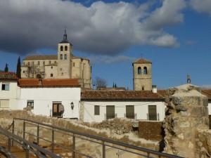 Iglesias de Cogolludo desde el Palacio Ducal