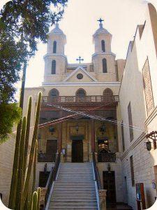 Iglesia Colgante de El Cairo. Foto de momo.