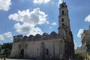 Iglesia de San Francisco de Asís, edificio que da nombre a la Plaza de San Francisco de Asís de La Habana