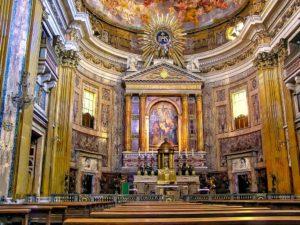 Altar Mayor de la Iglesia del Gesú