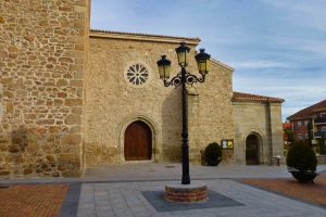Entrada a la Iglesia de Nuestra Señora de las Nieves