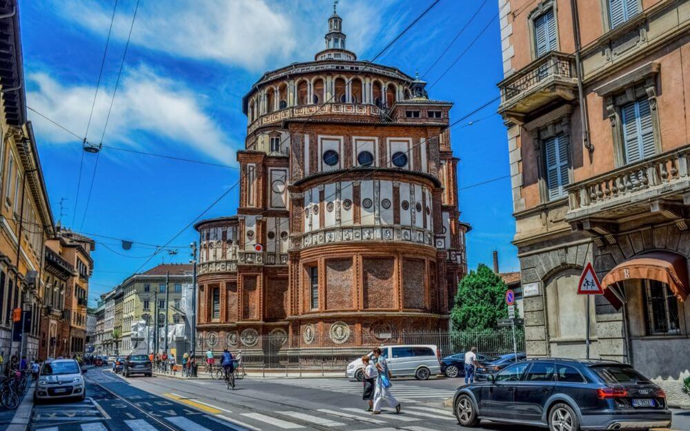 Iglesia Santa María de las Gracias o Santa Maria delle Grazie