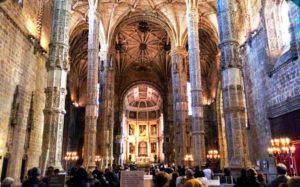 Iglesia de Santa María de Belém en el Monasterio de los Jerónimos