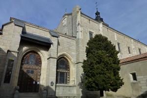 Iglesia del Monasterio de Santa María del Paular en Rascafría, pueblos pintorescos de Madrid
