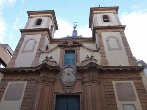Iglesia San Juan de Dios, una de las sedes del Museo de Bellas Artes de Murcia, museos de Murcia