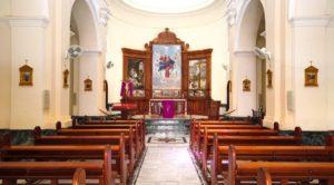 Interior de la Iglesia Parroquial de Nuestra Señora de la Asunción