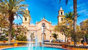 Iglesia Arciprestal de la Inmaculada Concepción en la Plaza de la Constitución
