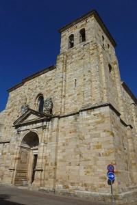 Iglesia de San Pedro y San Ildefonso, ruta del románico de Zamora