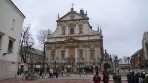 Iglesia de San Pedro y San Pablo, la iglesia barroca más antigua de Cracovia