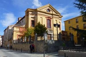 Iglesia del Rosario en el Real Sitio de San Ildefonso