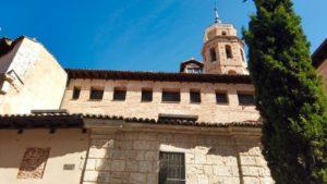 Iglesia de El Salvador, en su interior se guarda la imagen del santo patrón de Valladolid