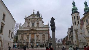 La Iglesia de San Andrés es uno de los edificios más antiguos que se conservan en Cracovia