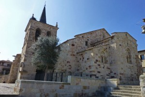 Iglesia de San Cipriano, forma parte de la Ruta del Románico de Zamora