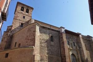 Iglesia de Santa María la Mayor de San Gil, principal santuario de Molina de Aragón