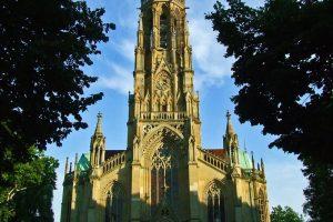 Iglesia de San Juan (Johanneskirche), una de las más bellas de Stuttgart