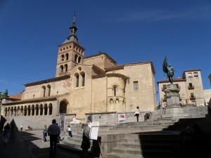 Iglesia de San Martín, iglesias de Segovia