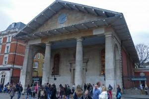 Iglesia de San Pablo en Covent Garden Piazza