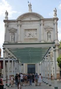 Iglesia de San Roque junto a la Escuela Grande de San Roque
