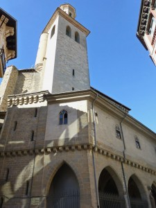Iglesia de San Saturnino, iglesias de Pamplona