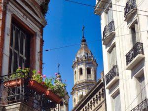 Torre campanario de la Iglesia de San Pedro Telmo