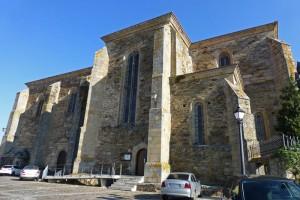 Iglesia del Monasterio de San Vicente del Pino en Monforte de Lemos