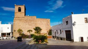 Iglesia de Santa María, templo parroquial de Mojácar
