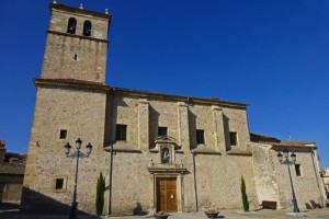 Iglesia de Santiago, el principal edificio religioso de Turégano