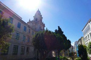 Iglesia y Convento de Santo Domingo en La Coruña