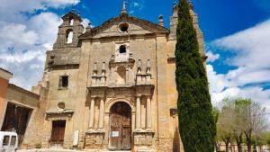 Fachada de la iglesia de Santo Domingo de Guzmán