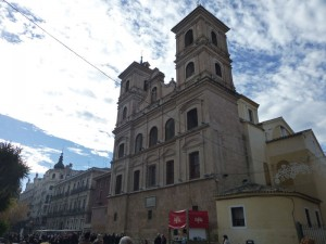 Iglesia de Santo Domingo en la plaza del mismo nombre, edificios religiosos de Murcia