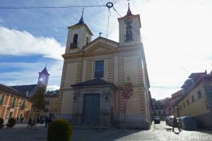 Iglesia de Nuestra Señora de los Dolores en el Real Sitio de San Ildefonso