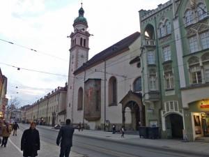 Iglesia de los Siervos de San José en Innsbruck (Servitenkirche)