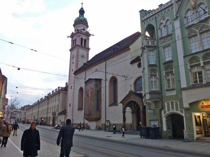 Calle Maria Theresien Strasse de Innsbruck