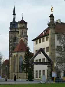 Iglesia Colegiata Stiftskirche de Stuttgart
