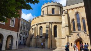 Iglesia del Temple, una de las más famosas iglesias de Londres