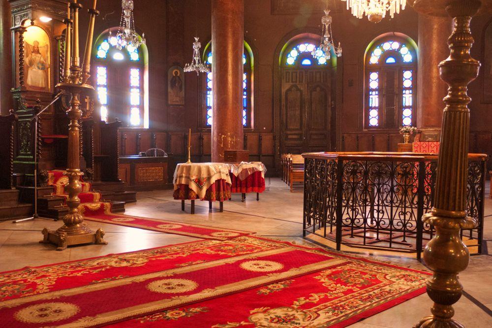 Iglesia de San Jorge en el Barrio Copto de El Cairo