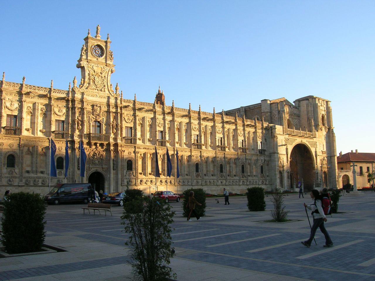 Convento de San Marcos, actual Parador de Turismo de León