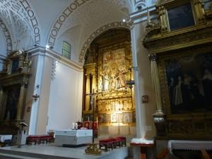 Interior del Convento de Santa Teresa en Ávila